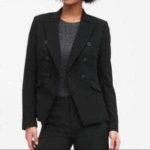 Brand New Double Breasted BR Black Blazer